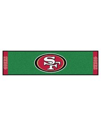 NFL San Francisco 49ers PuttingNFL Green Runner by