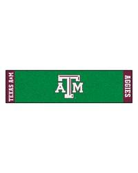 Texas AM Putting Green Runner  by