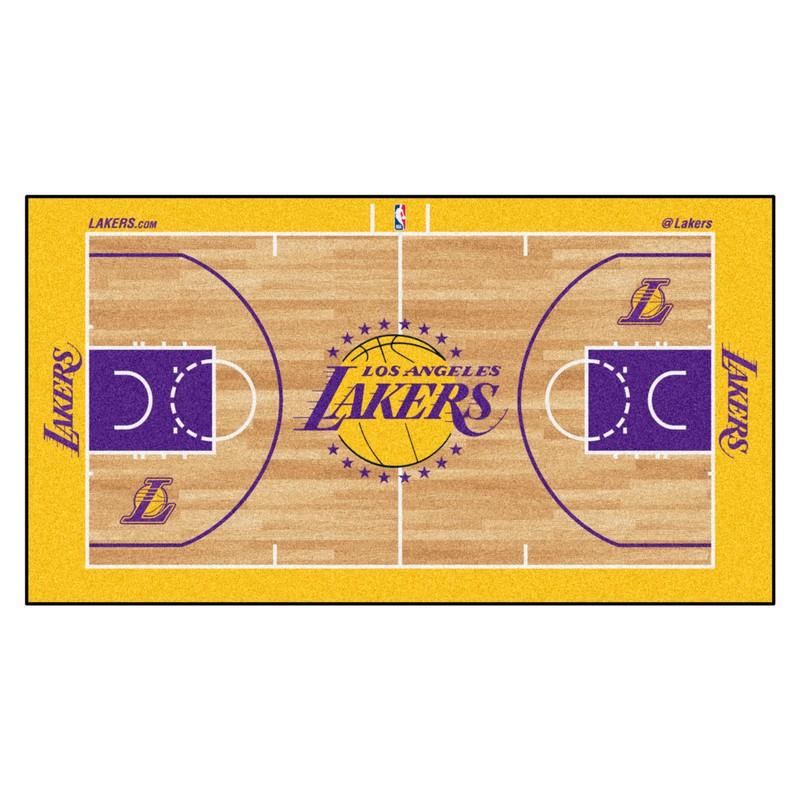 La Lakers Court Runner Rug Interiordecorating