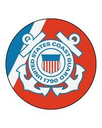 Coast Guard Round Rug 44 diameter by