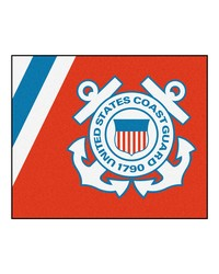 Coast Guard Tailgater Rug 60x72 by