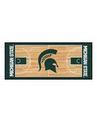 Michigan State Basketball Court Runner 30x72 by