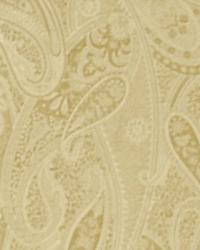 Classic Paisley Fabric  Country Life Oat
