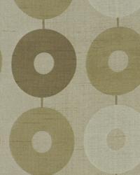 Beige Circles and Swirls Fabric  Nu Innovation Latte