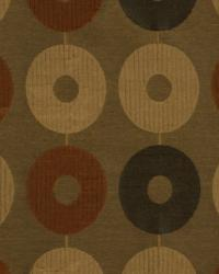 Brown Circles and Swirls Fabric  Nu Innovation Praline