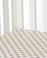 Calliope Fitted Sheet Grey Dot by