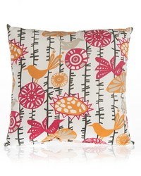 Calliope Pillow - Bird Print by