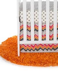 Calliope 2Pc Starter Set Includes dot sheet  crib skirt by