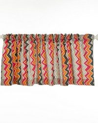 Calliope Valance Chevron Approximately 70x18 in  by