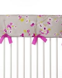 Blossom Convertible Crib Rail Protector  Long Individual Floral by