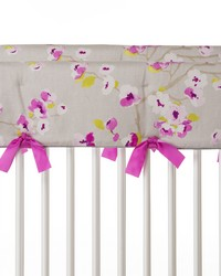 Blossom Convertible Crib Rail Protector  Short Set of 2 Floral by