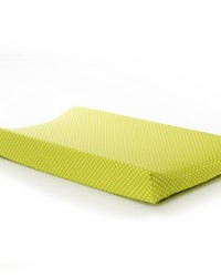 Blossom Changing Pad Cover Green Dot by