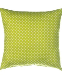 Blossom Pillow - Green Dot by