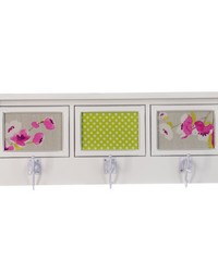 Blossom Photo Hanger Shelf 4Dx23.5Wx9H by