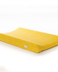 Traffic Jam Changing Pad Cover Yellow Dot by