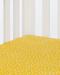 Traffic Jam Fitted Sheet Yellow Dot by