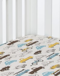 Traffic Jam Fitted Sheet Cars by