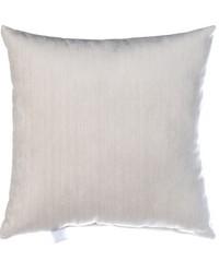Traffic Jam Pillow  White Velvet by