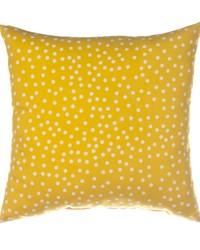 Traffic Jam Pillow  Yellow Dot by