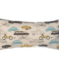 Traffic Jam Pillow  Rectangle Cars by