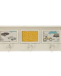 Traffic Jam Photo Hanger Shelf 4Dx23.5Wx9 in H  by
