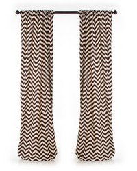 Traffic Jam Drapery Panels Chevron by