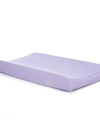 Lilly and Flo Changing Pad Cover Purple dot by