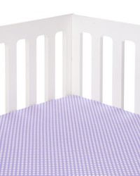 Lilly and Flo Fitted Sheet Purple Dot by