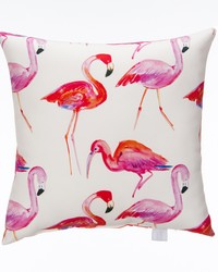 Lilly and Flo Pillow  Flamingo by