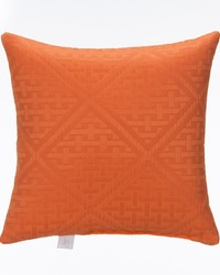 Lilly and Flo Pillow  Orange Matelasse by