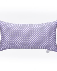 Lilly and Flo Pillow  Rectangle Purple Dot by