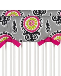 Pippin Convertible Crib Rail Protector  Short Set of 2 Print by