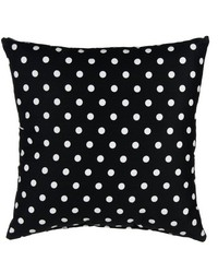 Pippin Pillow  Black  White Dot by