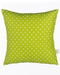 Pippin Pillow  Green Dot by