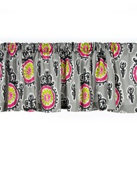 Pippin Window Valance Print Approximately 70x18 in  by
