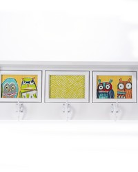 Lil Hoot Photo Hanger Shelf 4Dx23.5Wx9 in H by