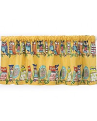 Lil Hoot Valance Owls Approximately 54x18 in  by
