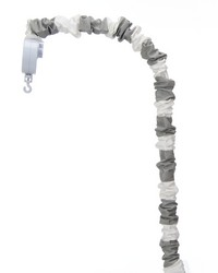 Lil Hoot Mobile Arm Cover Grey  White Stripe by