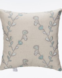 Twiggy Pillow   Velvet Embroidery Twig by