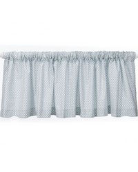Twiggy Valance Blue Print Approximately 70x18 in  by