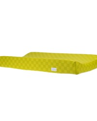 Changing Pad Cover Green Check by