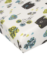 Fitted Sheet Bear Print by