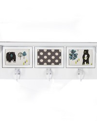 North Country Photo Hanger Shelf White by