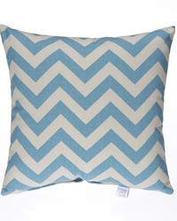 Pillow Blue Chevron by