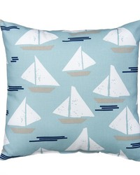 Pillow  Sailboat by