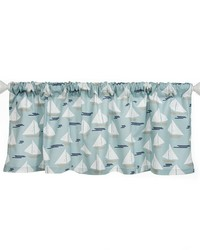 Window Valance Sailboat Approximately 70x23 in  by