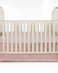 2Pc Starter Set Includes  sheet crib skirt by