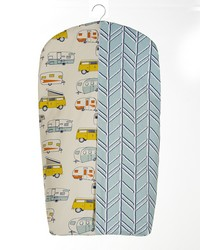 Happy Camper Diaper Stacker by