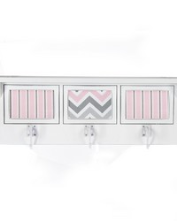 Kaitlyn Photo Hanger Shelf White by