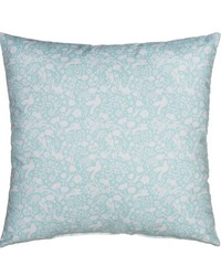 Pillow Blue Print by